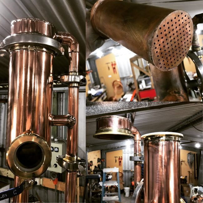 gin basket, copper gin basket, carter head gin basket, carter head, carterhead