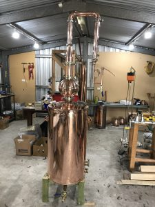copper boiler, copper still, whisky still, distillation