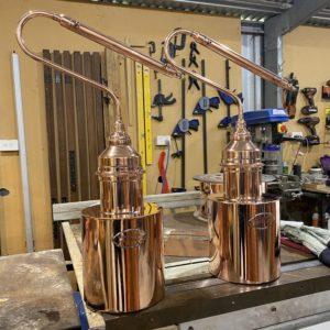 gin still, copper still, copper art, distilling, whisky, whiskey, vodka, distillers, micro distillery, tom thumb still, test still